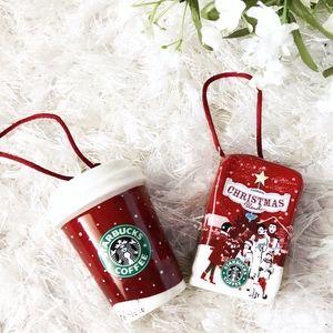 Coffee Christmas Ornament.Starbucks Coffee Christmas Tree Ornaments 2007